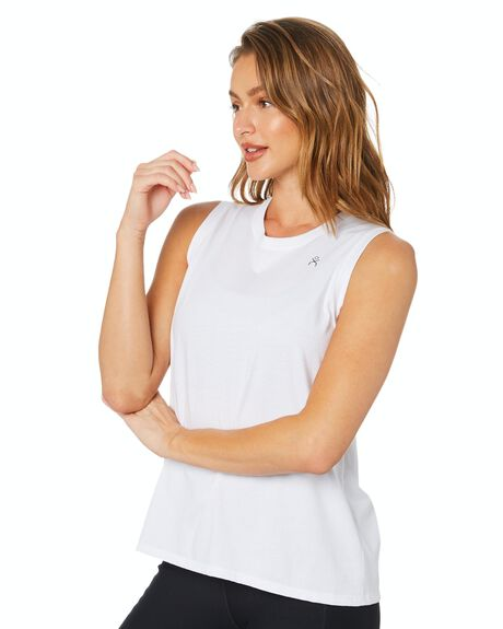 WHITE WOMENS CLOTHING DK ACTIVE ACTIVEWEAR - DK06-025-WHT-XS