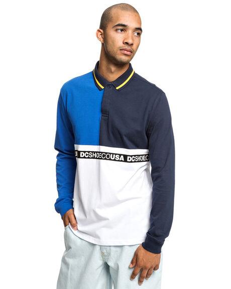 BLACK MENS CLOTHING DC SHOES SHIRTS - EDYKT03450-KVJ0