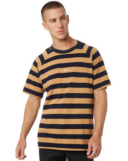 NAVY STRIPE MENS CLOTHING RPM TEES - 9AMT06ANVY