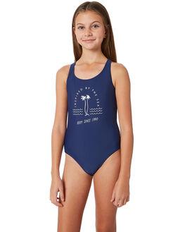 MEDIEVAL BLUE KIDS GIRLS ROXY SWIMWEAR - ERGX103038BTE0