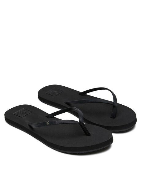 BLACK WOMENS FOOTWEAR REEF THONGS - 360BLA