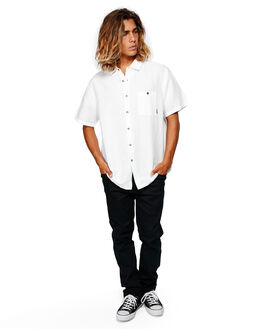 WHITE MENS CLOTHING BILLABONG SHIRTS - BB-9592206-WHT