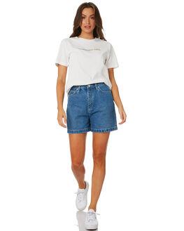 WHITE WOMENS CLOTHING LEE TEES - L-651962-066