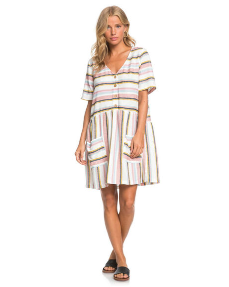 SNOW WHITE WOMENS CLOTHING ROXY DRESSES - ERJWD03484-XWMB