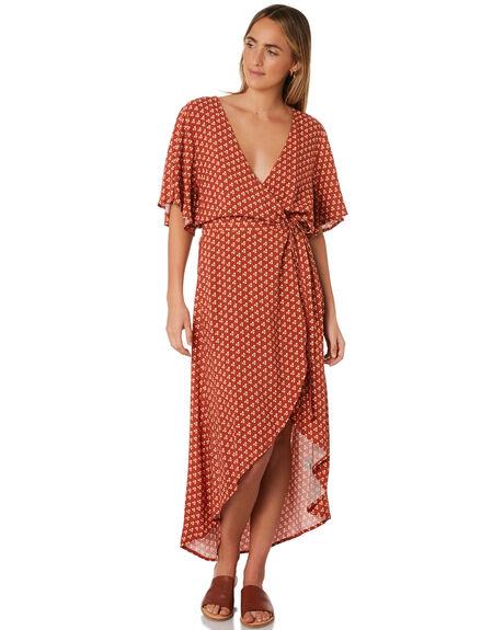 RUST WOMENS CLOTHING RIP CURL DRESSES - GDRHU10530