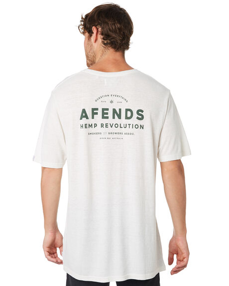 WHITE MENS CLOTHING AFENDS TEES - M191015WHT
