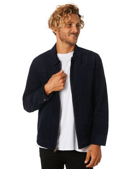 HAZY BLUE MENS CLOTHING THE CRITICAL SLIDE SOCIETY JACKETS - JK1804HZBLU