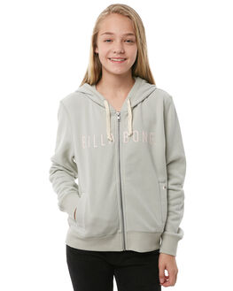 MINERAL GREEN KIDS GIRLS BILLABONG JUMPERS - 5585734GRN