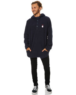 NEW NAVY MENS CLOTHING RVCA JUMPERS - R174152NNVY