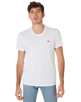 WHITE MENS CLOTHING LEVI'S TEES - 56605-0000