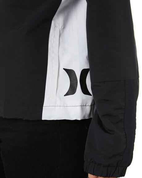 BLACK WOMENS CLOTHING HURLEY JACKETS - CI1475010