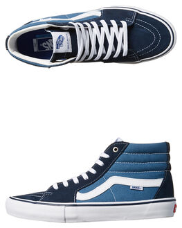 NAVY STV NAVY MENS FOOTWEAR VANS SKATE SHOES - VN-047TNGJBLU