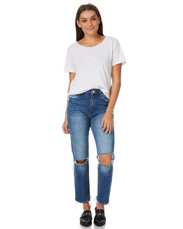 LINGER WOMENS CLOTHING A.BRAND JEANS - 71170LING