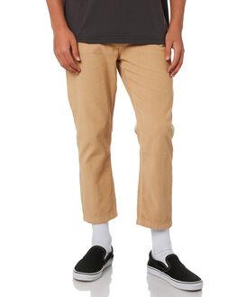 OVERDYED TAN MENS CLOTHING THRILLS PANTS - TPD-422OCOTAN