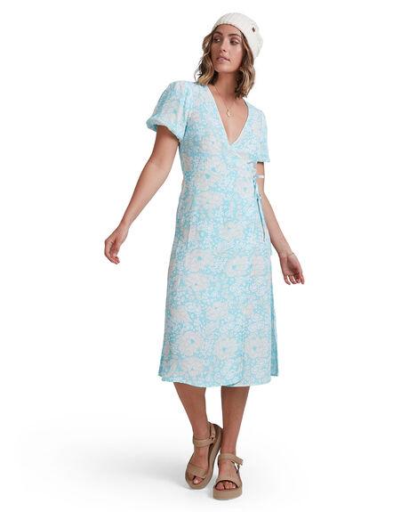 BLUE WOMENS CLOTHING BILLABONG DRESSES - 6517472-BLU