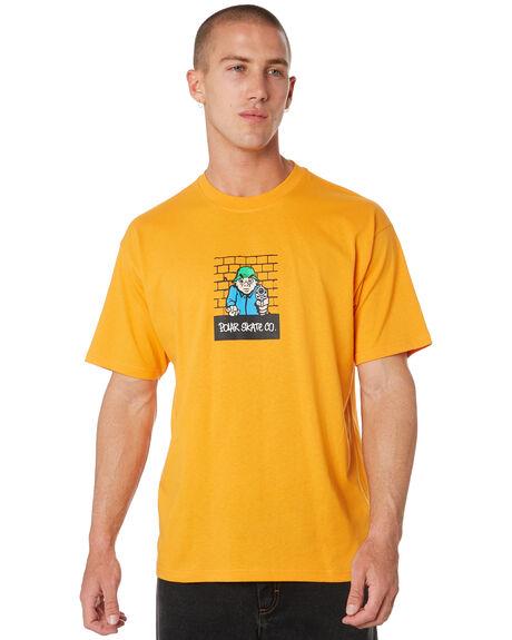 BRIGHT ORANGE MENS CLOTHING POLAR SKATE CO. TEES - PSCROB-BRORG