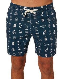 DARK DENIM MENS CLOTHING THE CRITICAL SLIDE SOCIETY BOARDSHORTS - BS1888DDNM