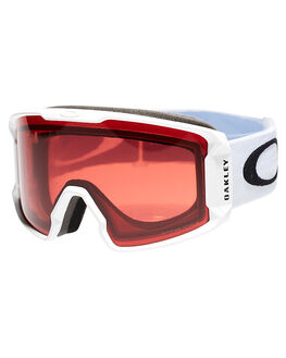 MATTE WHITE ROSE SNOW ACCESSORIES OAKLEY GOGGLES - OO7070-16WHTR