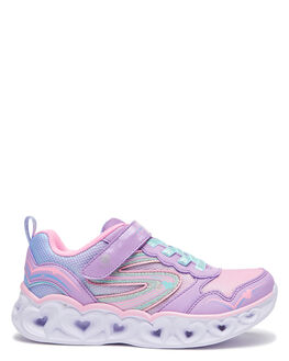 LAVENDER KIDS GIRLS SKECHERS SNEAKERS - 20294LLVMT