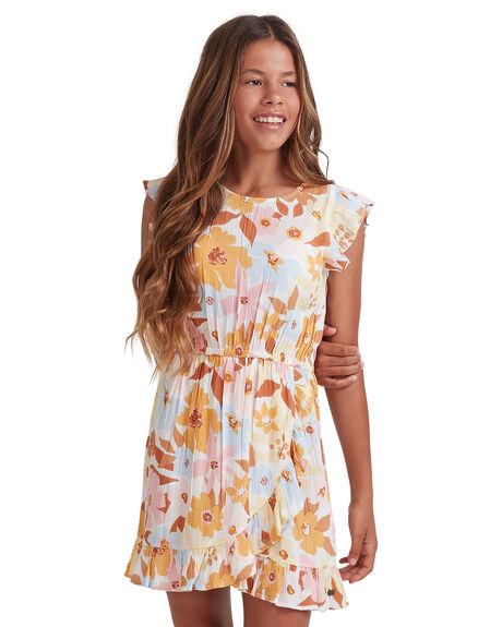 MULTI KIDS GIRLS BILLABONG DRESSES + PLAYSUITS - 5513461-MUL