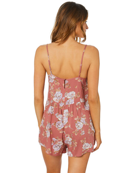 PRIMROSE FLORAL WOMENS CLOTHING SWELL PLAYSUITS + OVERALLS - S8211449PRSFL