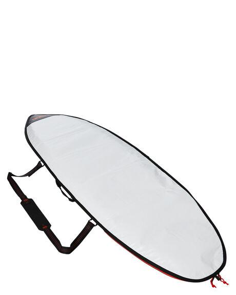 STEEL BLUE WHITE BOARDSPORTS SURF FCS BOARDCOVERS - BCL-AP5-SBW