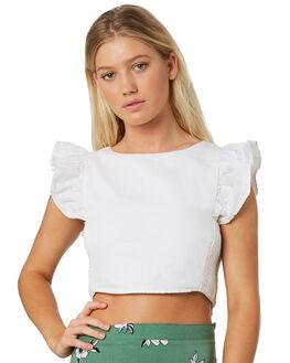 WHITE WOMENS CLOTHING ELWOOD FASHION TOPS - W91311653