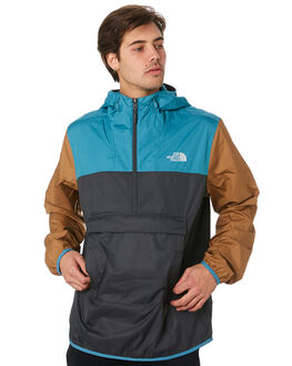 BLUYE GREY KHAKI MENS CLOTHING THE NORTH FACE JACKETS - NF0A3FZLAV6