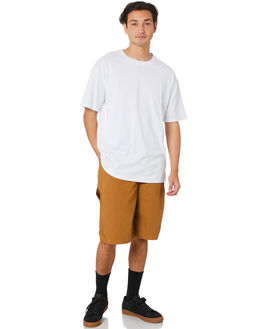 RINSED BROWN DUCK MENS CLOTHING DICKIES SHORTS - DX250RBD