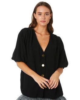 BLACK WOMENS CLOTHING MLM LABEL FASHION TOPS - MLM527BBLK