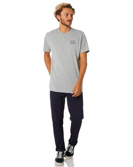 GREY MARLE MENS CLOTHING SWELL TEES - S5184013GRYMA