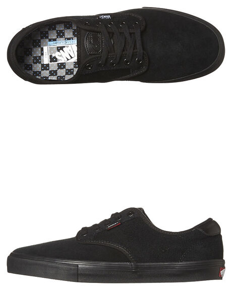 b1f97378397a Vans Chima Ferguson Pro Shoe - Black Black