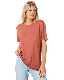 WASHED ROSE WOMENS CLOTHING SWELL TEES - S8194001WSHRS