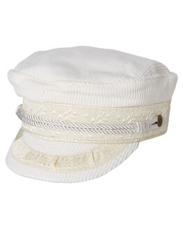 WHITE WOMENS ACCESSORIES BRIXTON HEADWEAR - 00713WHITE