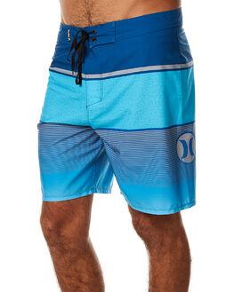 CHLORINE BLUE MENS CLOTHING HURLEY BOARDSHORTS - AMBSJARV47B
