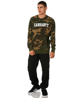 CAMO MENS CLOTHING CARHARTT JUMPERS - I024668CAMO