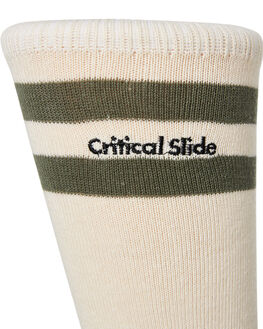 DIRTY WHITE MENS CLOTHING THE CRITICAL SLIDE SOCIETY SOCKS + UNDERWEAR - SK1815DTYWH