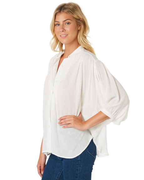 WHITE OUTLET WOMENS ROLLAS FASHION TOPS - 13032-000