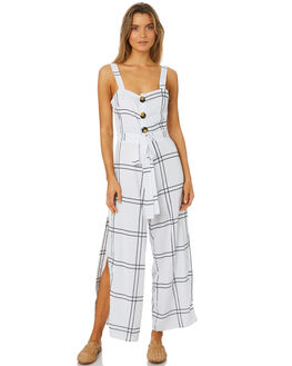 VALERY CHECK WOMENS CLOTHING SANCIA PLAYSUITS + OVERALLS - 710ACHK