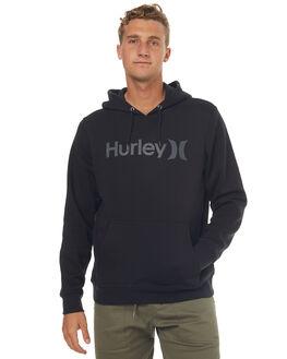 BLACK MENS CLOTHING HURLEY JUMPERS - MFT000788000A