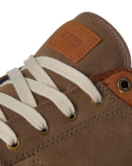 WALNUT OFF WHITE MENS FOOTWEAR GLOBE SKATE SHOES - GBGS-16265