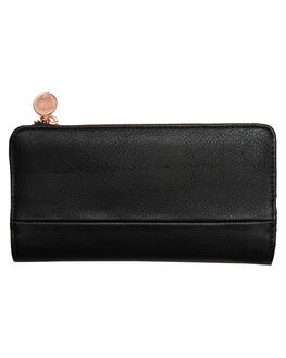 BLACK WOMENS ACCESSORIES RUSTY PURSES + WALLETS - WAL0743BLK