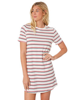NAVY RED WOMENS CLOTHING HUFFER DRESSES - WDR84S9611-680