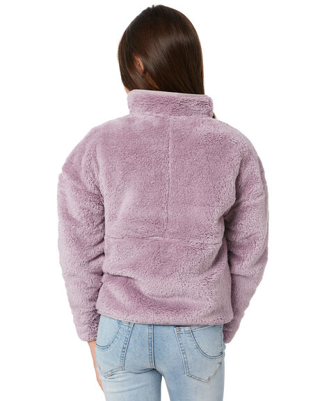 ASHEN PURPLE KIDS GIRLS THE NORTH FACE JUMPERS + JACKETS - NF0A3NL6D2QPUR