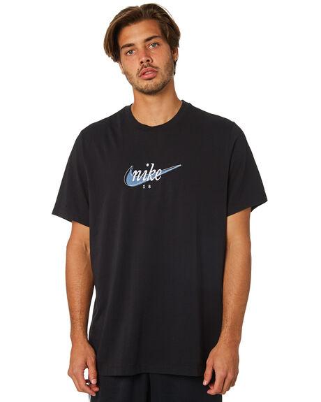 BLACK THUNDERSTORM MENS CLOTHING NIKE TEES - AO0378010