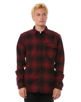 RED MENS CLOTHING BILLABONG SHIRTS - 9585214RED