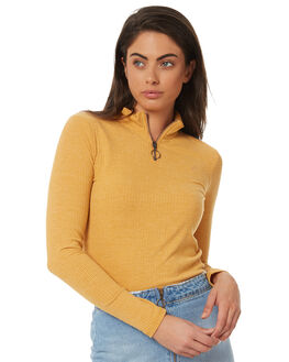 TOBACCO WOMENS CLOTHING ELEMENT FASHION TOPS - 283181TOB