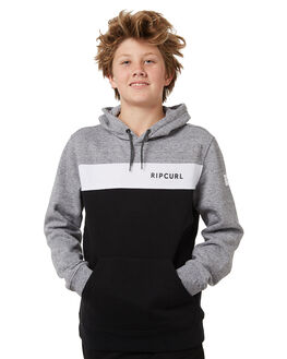 BLACK KIDS BOYS RIP CURL JUMPERS + JACKETS - KFEMJ10090