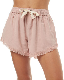 PALE MAUVE WOMENS CLOTHING BILLABONG SHORTS - 6572271PAL