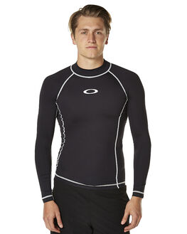 BLACK SURF RASHVESTS OAKLEY MENS - 482106AU01K